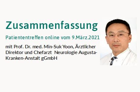 Themen: Formen der CIDP, Reha des GBS und Impfung gegen SARS-CoV-2